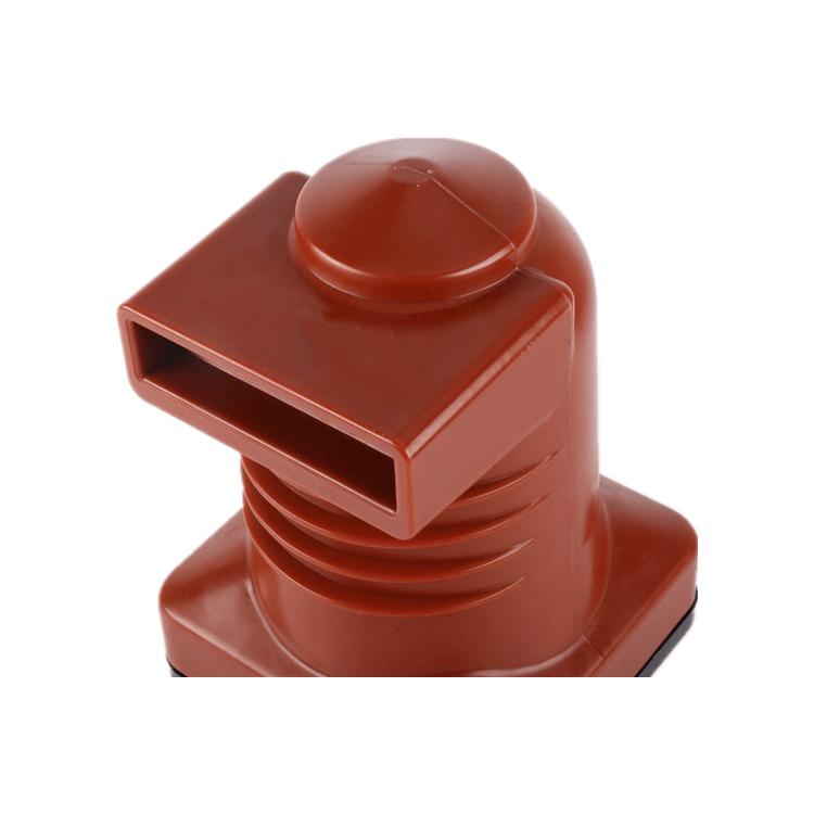 Boîte de Contact en résine époxy rouge d'intérieur haute tension CH3-10Q 180 pour appareillage 11kv
