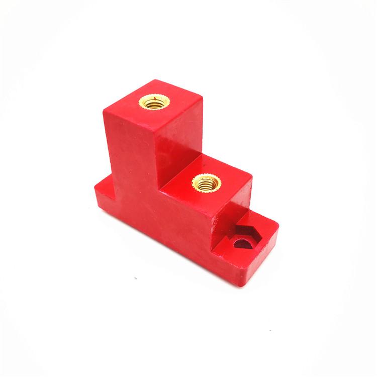 Isolateur de support de barre omnibus de support électrique de panneau solaire SMC de vente chaude de DOWE CT2-25