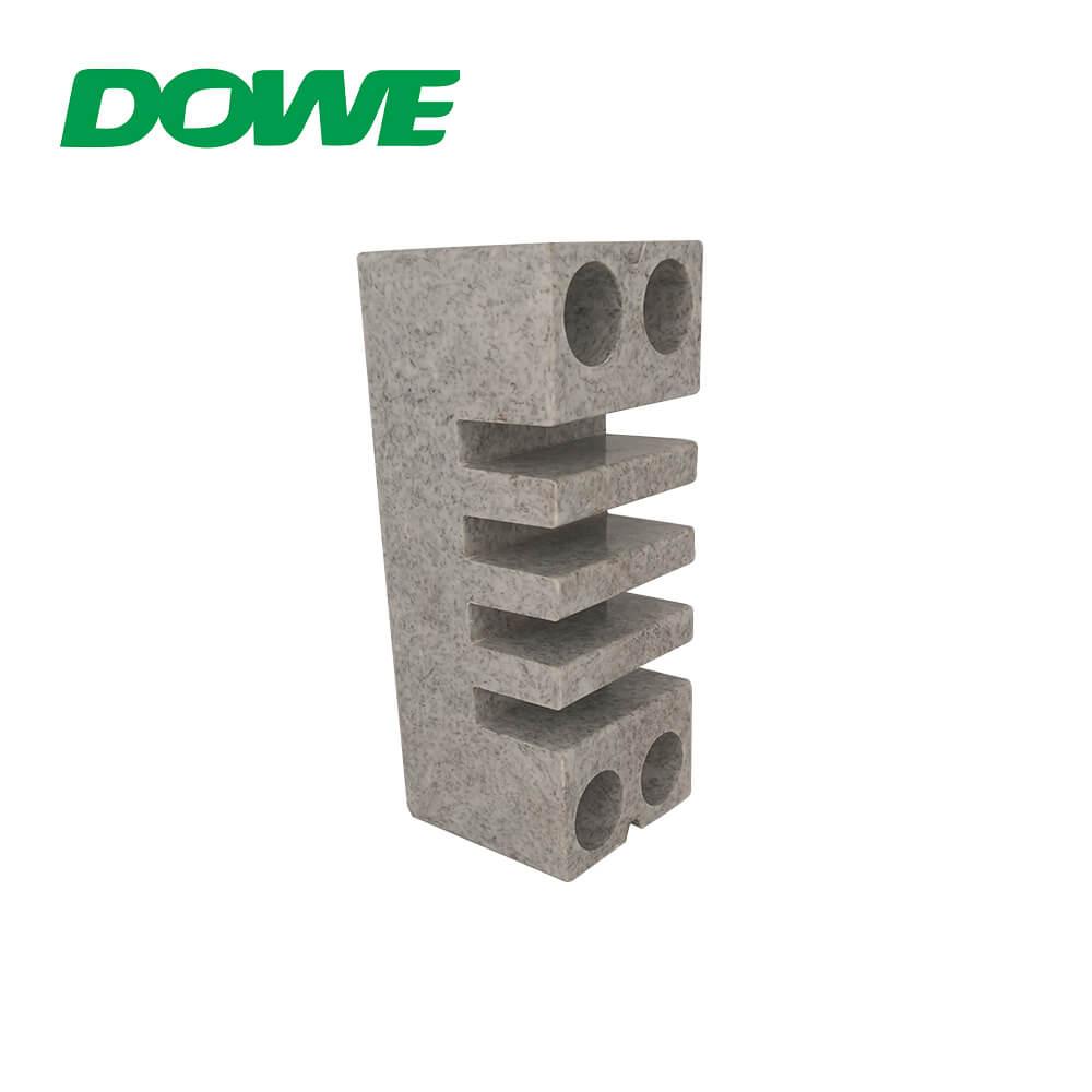 BMC barre omnibus pince barres omnibus isolateurs tableau électrique marbre basse tension blanc gris CE ROHS EL-155 12N/M 660v DOWE