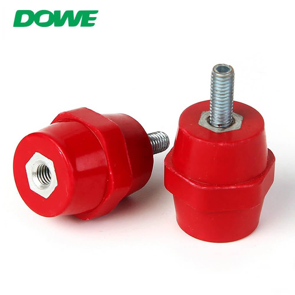 Isolateur en plastique électrique SEP2522 DMC Isolateur hexagonal de support de barre omnibus à basse tension avec boulon