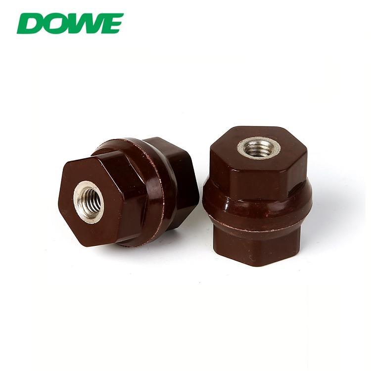 Isolation hexagonale haute résistance DOWE D30X30 Isolant basse tension pour poteau