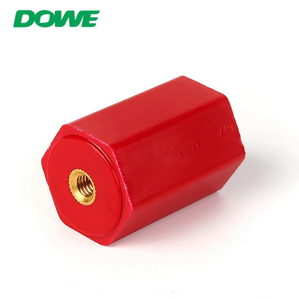Isolateurs électriques de support de support d'isolateur de barre omnibus hexagonale DOWE EN30 M6