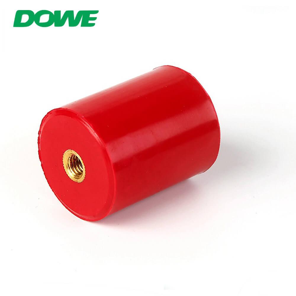 Support de support d'isolateur de barre omnibus électrique à basse tension d'isolateur en plastique d'usine de la Chine avec la vis de pouce