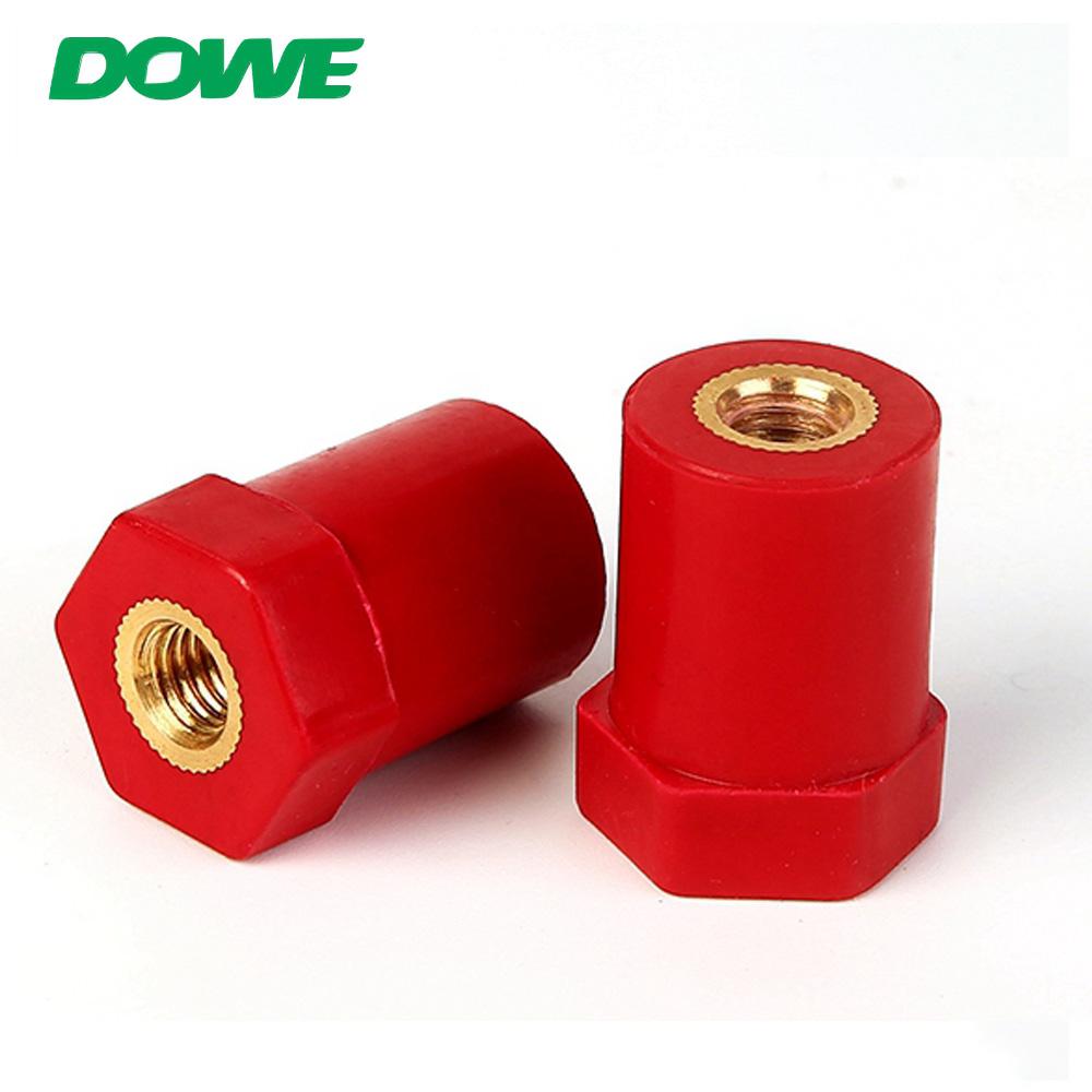 Isolateurs de barre omnibus série DOWE SB20X30 M8 Sb/isolateur d'écartement/isolateurs de support de barre omnibus