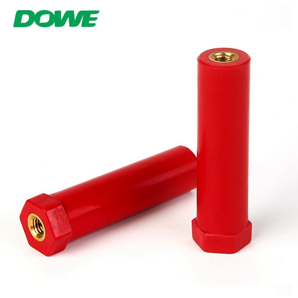DOWE SB20X78.5 JYZ série polymère poste basse tension barre omnibus isolateur broches électrique entretoise Support isolateurs