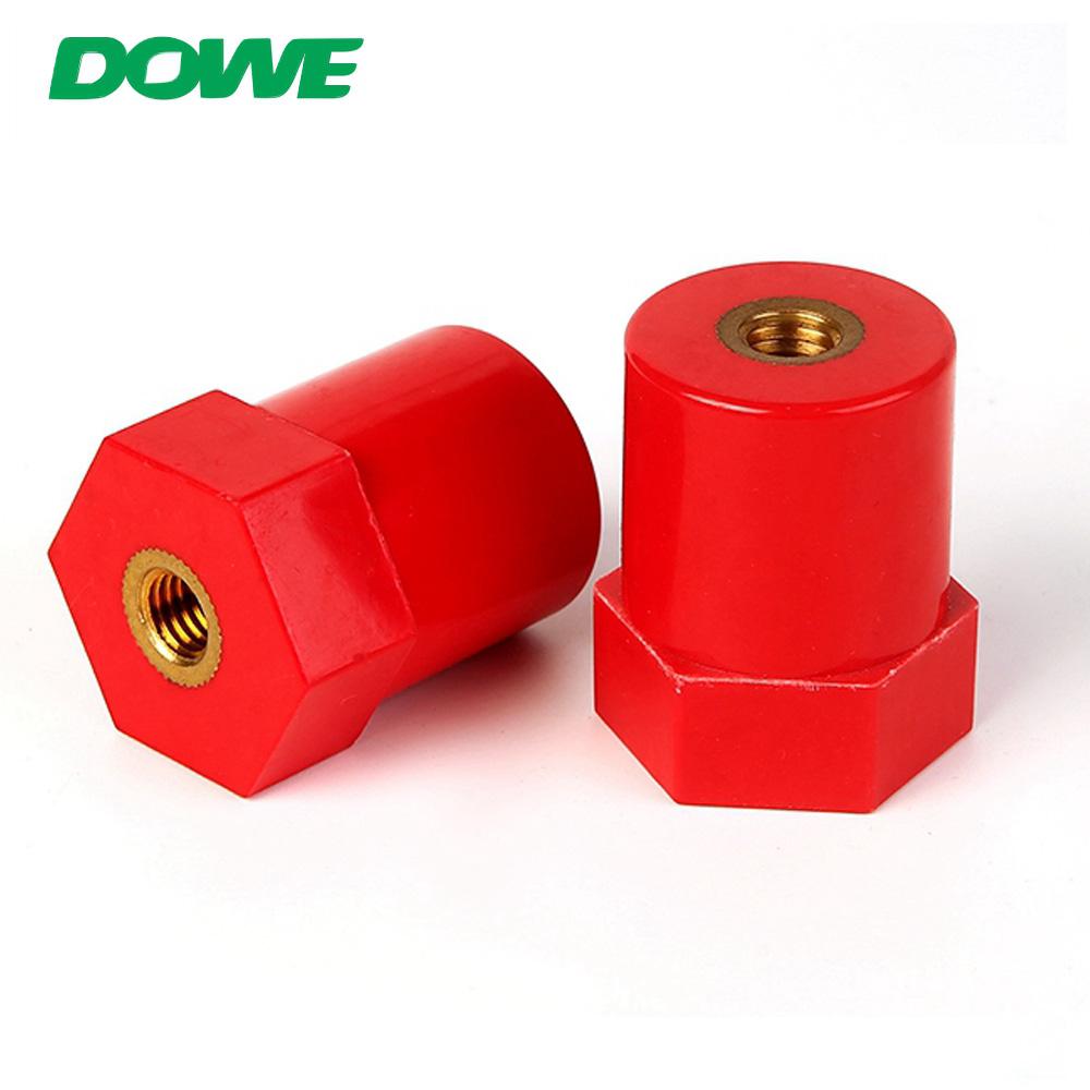 Isolateurs de support de barre omnibus DOWE SB20X30 M6 ROSH Composite de résine époxy basse tension électrique série Sb rouge