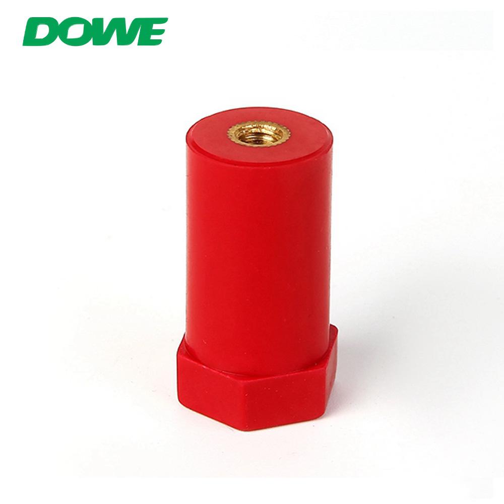 Connecteur isolé par isolant de barre omnibus d'entretoise d'isolateurs de DOWE SB20X40 M6