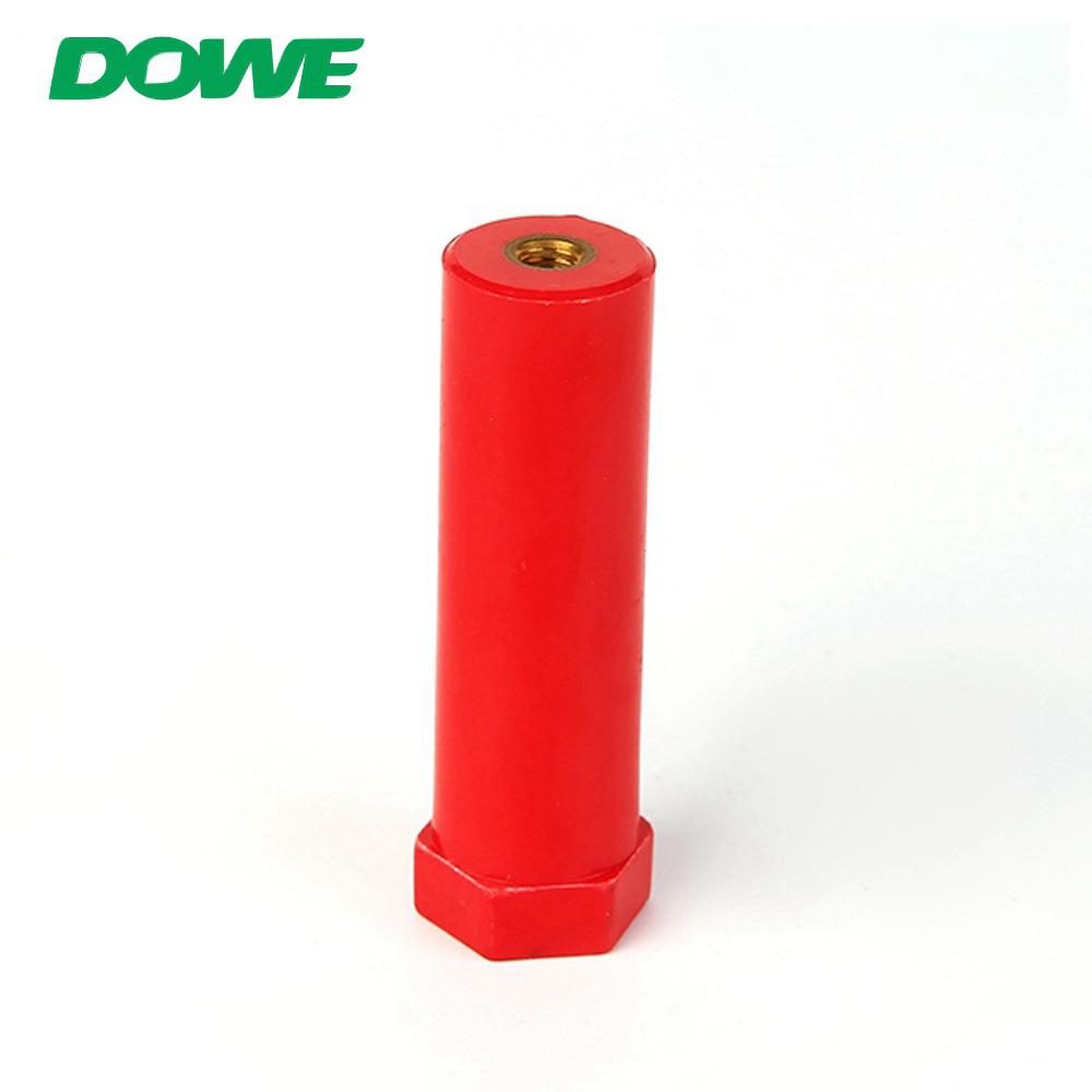 Isolateur de support de barre omnibus époxy basse tension haute résistance DOWE SB20X70 M6
