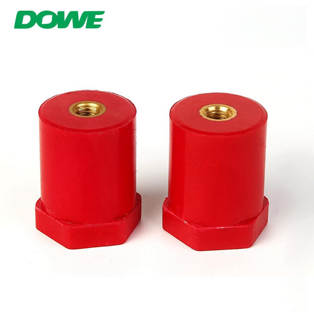 Borne isolée en caoutchouc de connecteurs de batterie d'isolateur de barre omnibus en cuivre de DOWE SB30X50M8