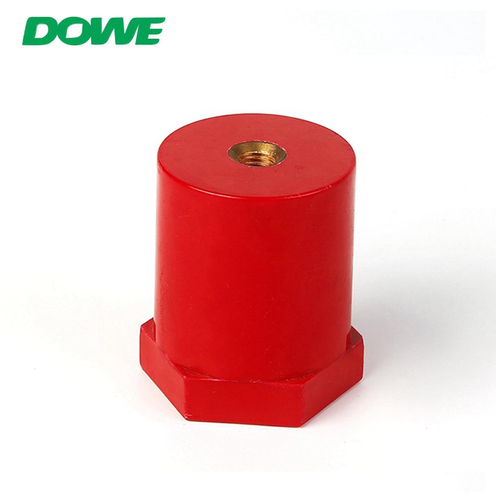 Borne isolée en caoutchouc de connecteurs de batterie d'isolateur de barre omnibus en cuivre de DOWE SB40X50 M8