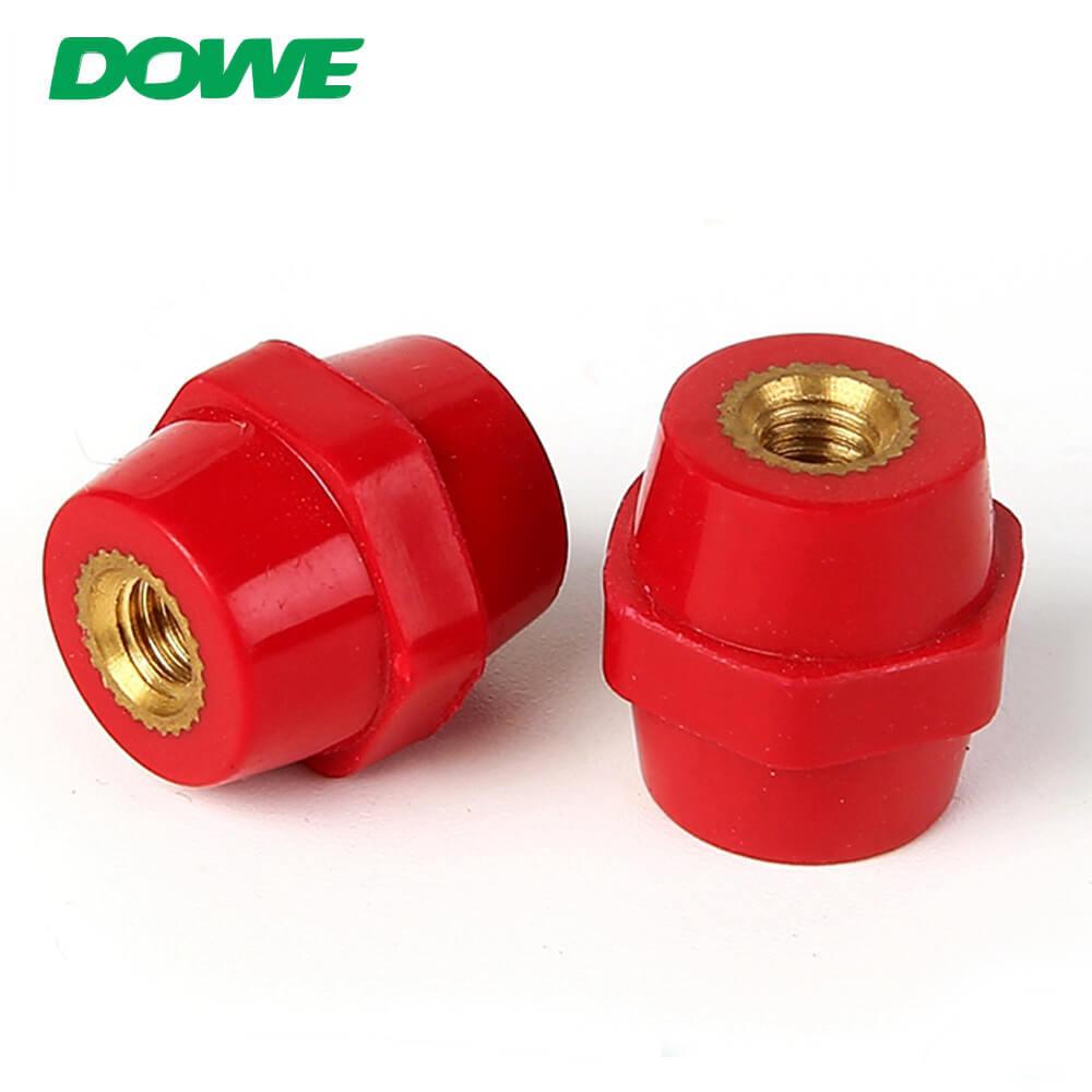 Petit isolateur électrique SEP2019 DMC hexagonal de support d'entretoise de basse tension adapté aux besoins du client avec la couleur