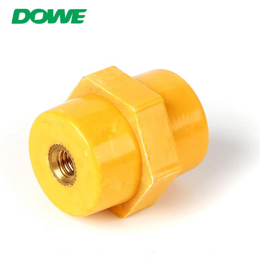 Isolateurs de support de barre omnibus basse tension SEP2522 M6 isolateur support d'entretoise d'isolation de support de barre omnibus DMC
