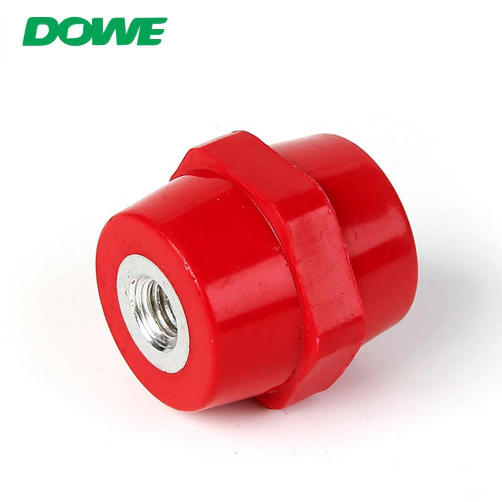 Isolateurs hexagonaux de support de barre omnibus de basse tension de SEP d'isolateurs de résine époxyde d'appareillage sans boulon