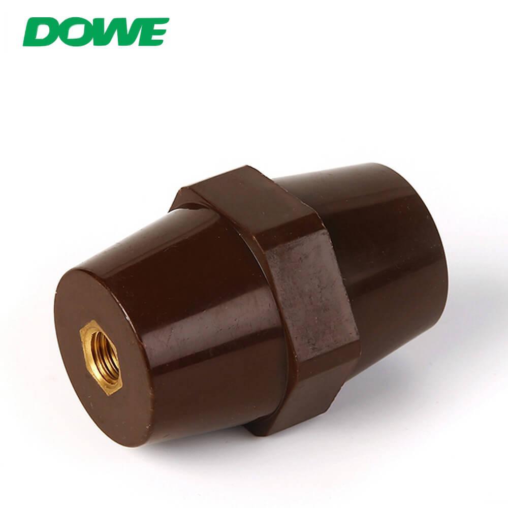 Isolateur de bague Isolateur de barre omnibus basse tension électrique SEP6541 barre omnibus d'entretoise hexagonale