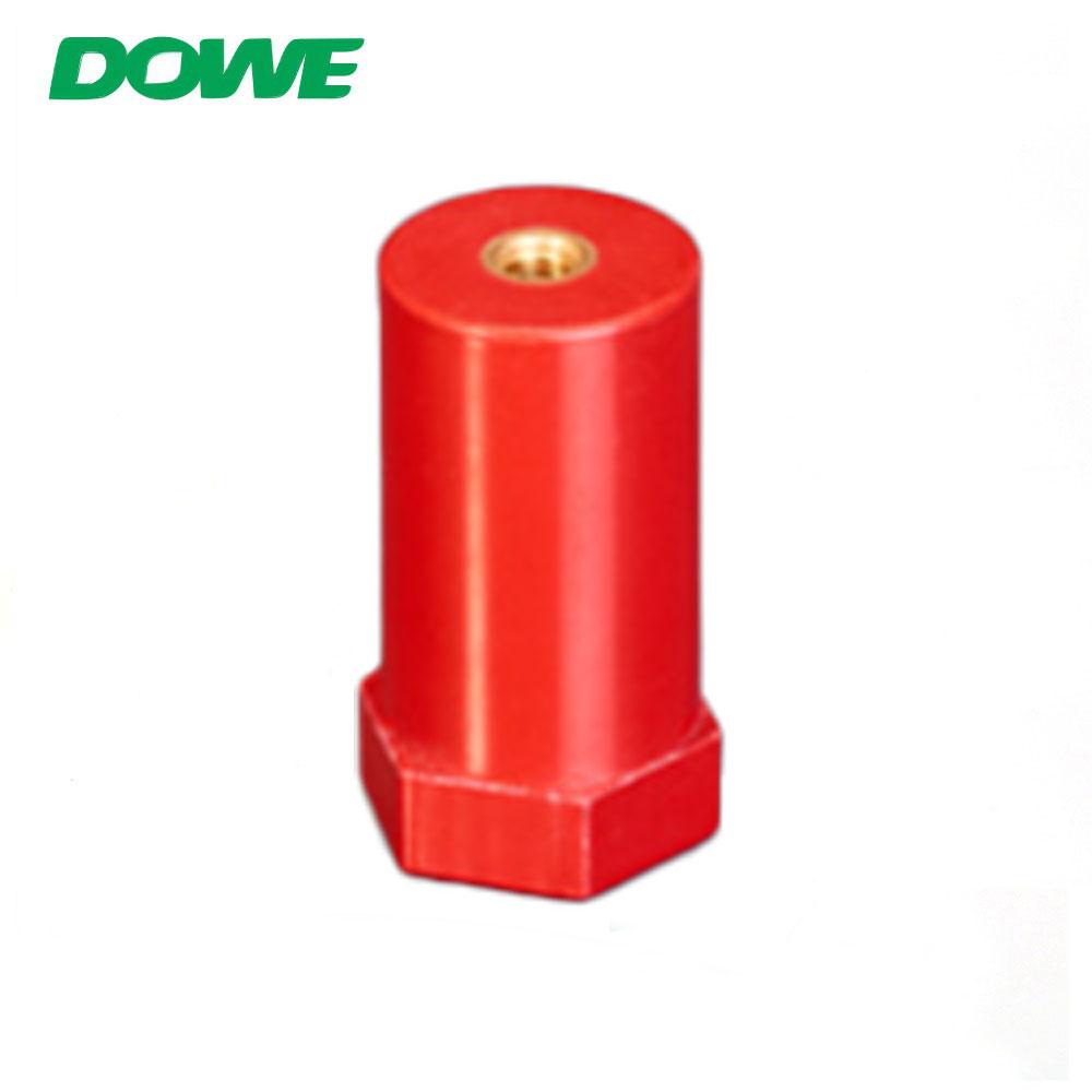 DOWE SB20X45 DMC SMC SB cuivre M5 entretoise barre omnibus isolant résine rouge amélioré résistant à l'eau