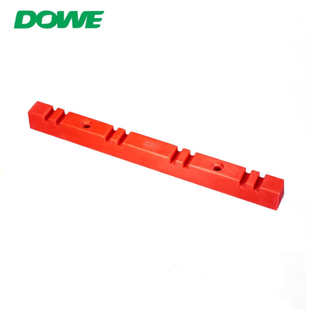 Usine d'isolateur thermoplastique 8S4 Stock de support d'isolateur de barre omnibus de pince d'isolation électrique rouge