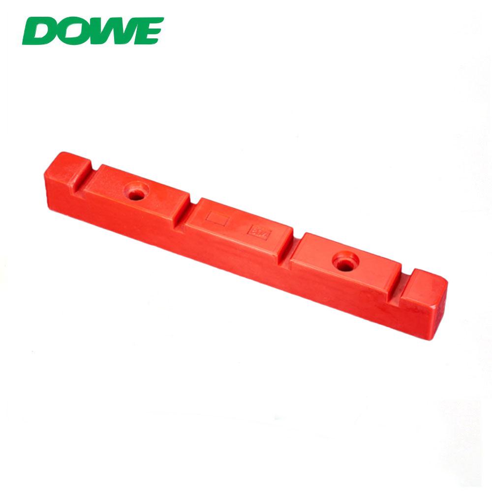 Support d'espacement d'isolation simple triphasé de la pince d'isolateur d'espacement de basse tension de DOWE 8D4