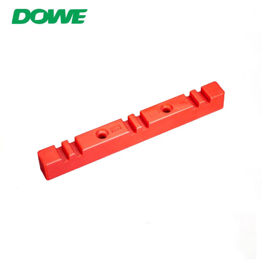 Support rouge de barre omnibus de l'isolateur 10S3 d'entretoise de barre omnibus de basse tension de bride d'isolation électrique pour le triphasé