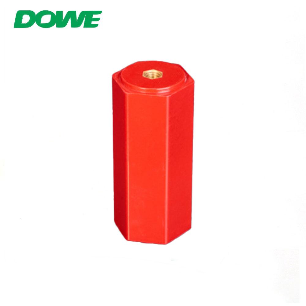 SMC basse tension En100 M6 support de barre omnibus hexagonale Isolateurs électriques Isolateur d'espacement Application électrique BMC