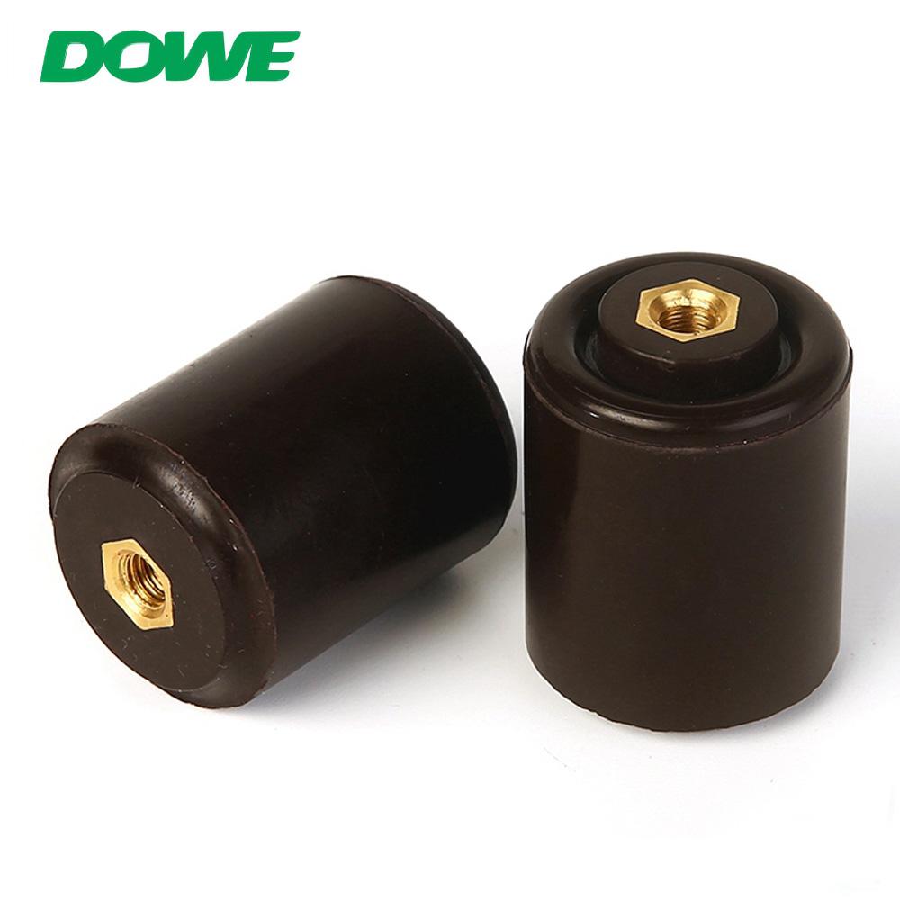 Isolateurs d'espacement électriques DOWE SE 30X40 Isolateur octogonal de barre omnibus Isolateur d'espacement basse tension