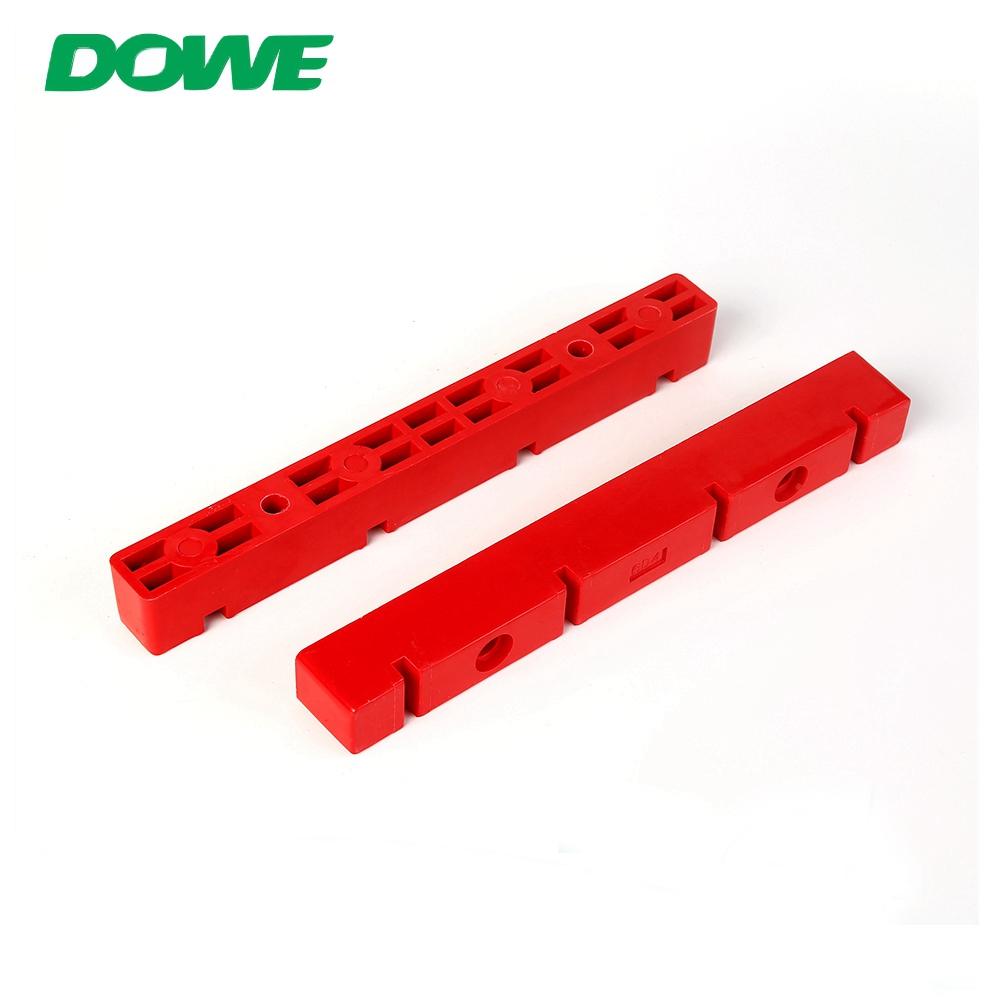 Usine simple adaptée aux besoins du client de bride d'isolation électrique rouge de l'isolateur 6D4 de barre omnibus