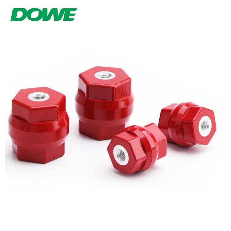 Isolateur moulé d'isolants d'entretoise de support moulé par BMC de basse tension de DOWE D25X25