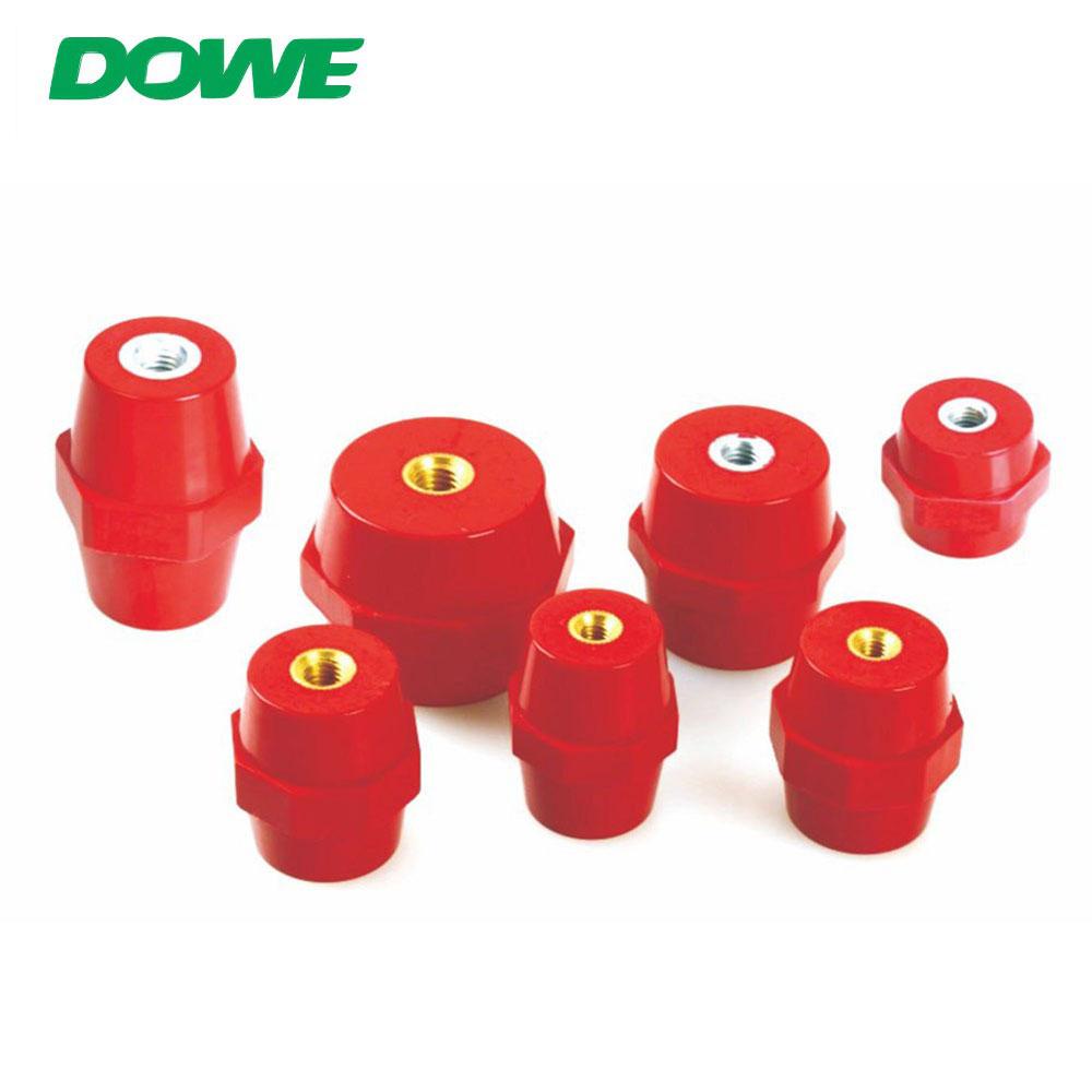 Isolateur de barre omnibus Support de barre omnibus Isolateurs de barre omnibus en fibre de verre de barre omnibus BASSE tension M8/M10/M12 OEM, ODM