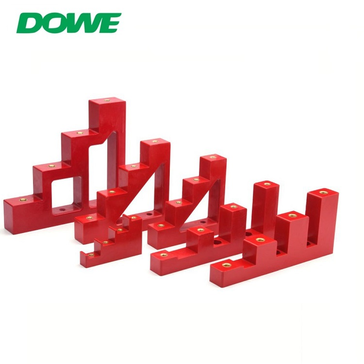 Support de barre omnibus d'isolateur de basse tension d'isolateur d'étape d'isolateur de résine de DOWE CJ4-30 CE