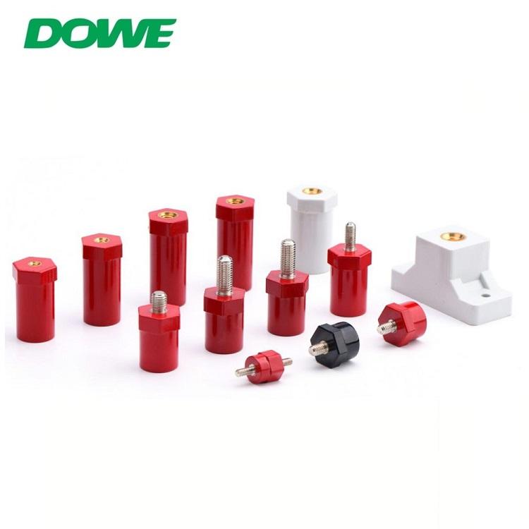 Isolateur électrique de résine époxyde de barre omnibus d'isolateur de barre omnibus de soutien de basse tension de DOWE SB14X14
